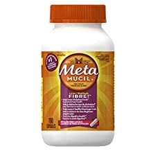 Metamucil Psyllium Fiber Capsules 160 Count- Packaging May Vary