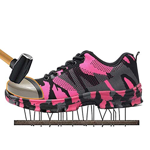bed7979ec5dd SUADEX Steel Toe Shoes Men, Women's Work Safety Industrial and ...