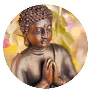 alfombrilla de ratón Estatua de Buda - ronda - 20cm