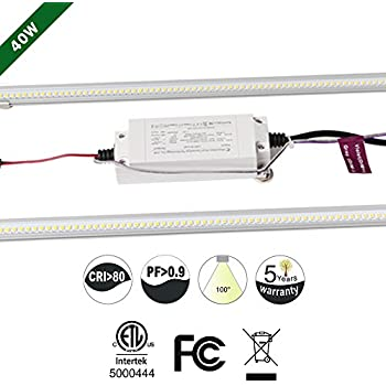 51t8cfauGRL._SL500_AC_SS350_ led 2' x 4' fluorescent retrofit kit, 2 magnetic mount led strips Dimmable LED Can Lights at honlapkeszites.co
