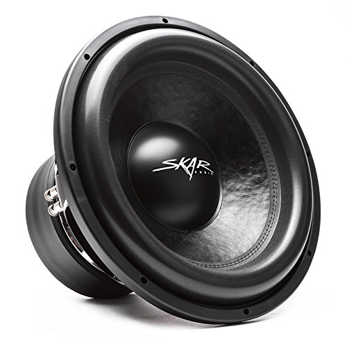 "Skar Audio VXF-15 D2 15"" 3000 Watt Max Power Dual 2 Ohm Competition Car Subwoofer"