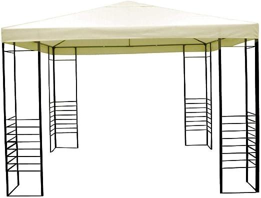 Amicasa. Carpa con Cubierta de PVC y Estructura de Hierro Modelo Niza: Amazon.es: Jardín