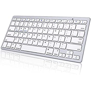 963de3ebfe1 Wireless Bluetooth Keyboard for iPad,KIPIDA Ultra-Slim Universal Keyboard  Compatible with iPad Pro 11/12.9 iPad Tablet iPhone Mac Galaxy,iPad Keyboard  and ...