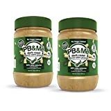 PB&Me Dark Roast Powdered Peanut Butter, No Sugar Added, 2 Pack (1 lb), 2 Count