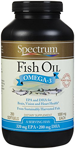 Spectrum Essentials - Fish Oil, 250 Softgels