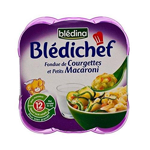 Bledina Chef Fondu of Courgette and Mini Macaroni (12 months) 2 x 230g - Pack of 6
