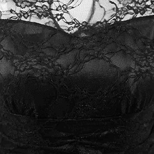 Acogedor Hepburn Verano Retro Grande Tank Señoras Playa Imprimir Las Falda Vestidos Cintura De Mujeres Tops Vestido Negro Fiesta Oudan aqvWxSz7z
