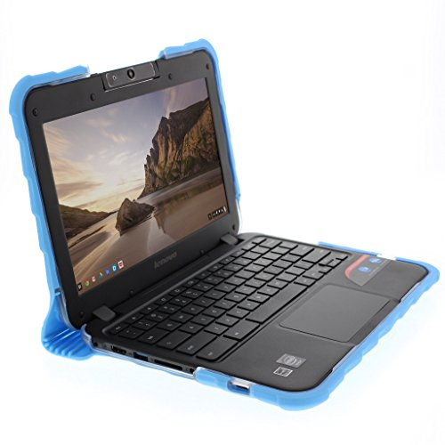 Gumdrop Cases Droptech Case for Lenovo N22 and N21 Chromebook 80MG 80SF 80VH Rugged Shock Absorbing Cover, Blue by Gumdrop Cases