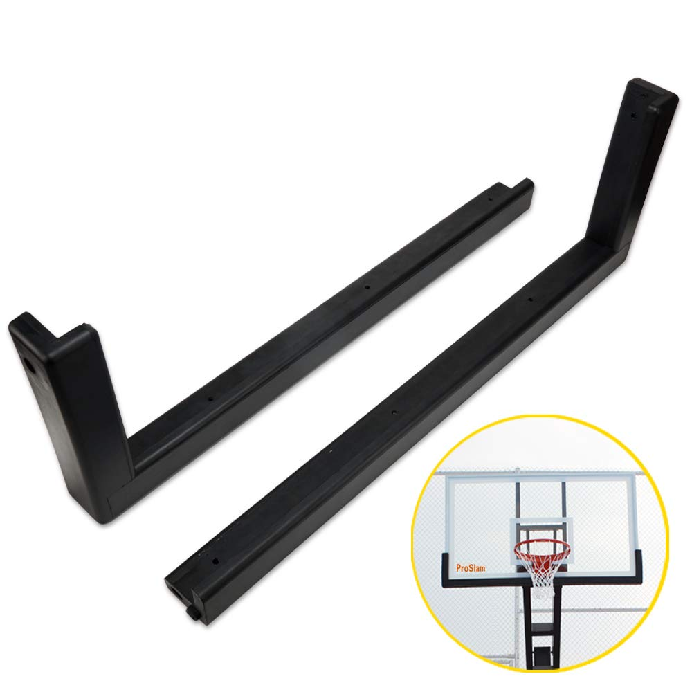 ProSlam Upgrade Weatherproof Pro-Style Basketball Backboard Padding,Fits All 60' Basketball Systems