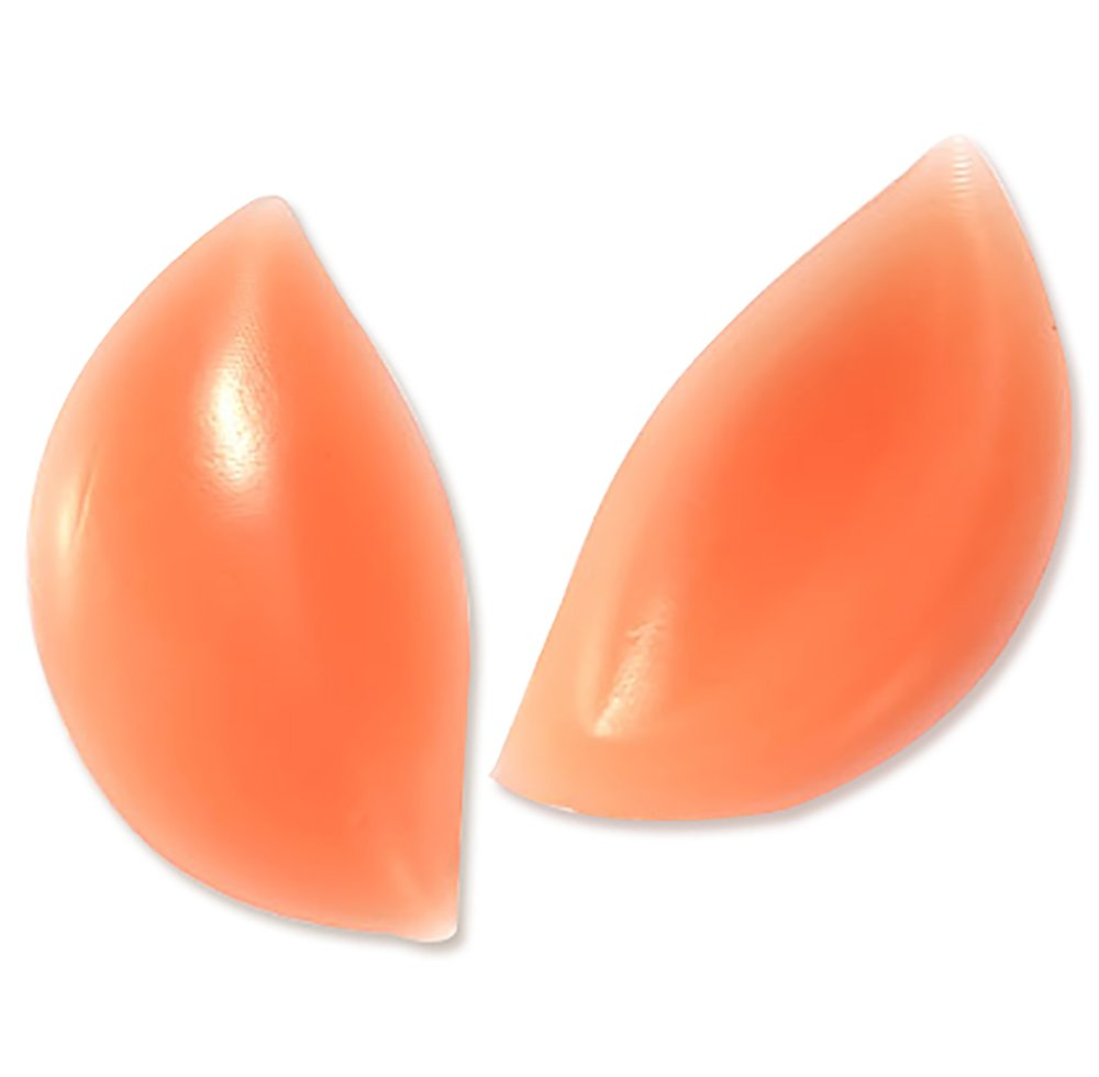 HDYD Silicone Inserts Pads Breast Enhancers for Bras Swimsuits and Bikini (Skin) by HDYD   B01C154UP2