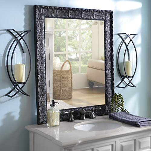 Set of Two Metal Wall Sconces Home Decor by HMW® (Image #2)
