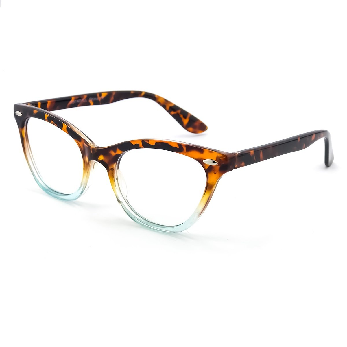 Kiss Brillen in neutralen CAT-EYE PIN-UP mod. BICOLORED - fassung ...