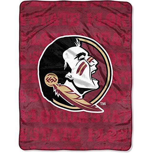 The Northwest Company Florida State Seminoles Micro Raschel Fleece Throw Blanket