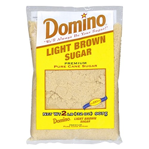 Domino Premium Pure Cane Sugar, Light Brown, 2 lb