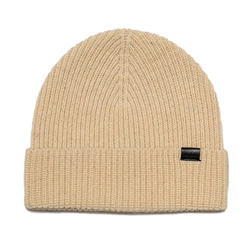 After Six Wool Coat - Rich Cotton Beanie (Cream)