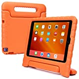 Samsung Galaxy Tab S2 8.0 kids case, COOPER DYNAMO Rugged Heavy Duty Children's Boys Girls Drop Proof Protective Carry Case Cover + Handle, Stand & Screen Protector for SM-T710 T715 T719N Orange