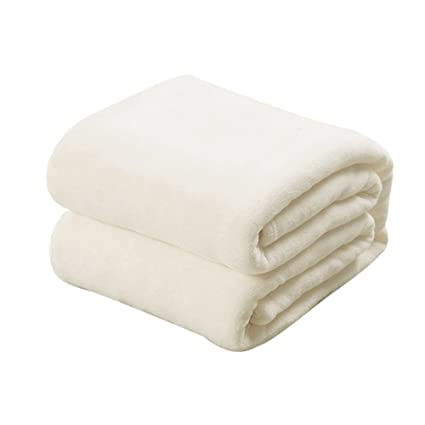 Diaper Soft Warm Solid Plush Fleece Blanket Throw Sofa ...