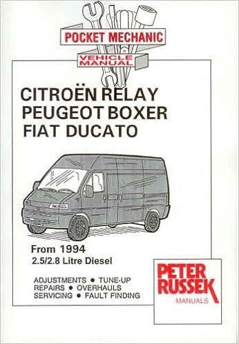 Citroen Relay Diesel Model, to 2001, 2.8 Hdi Turbodiesel Paperback – June, 2001