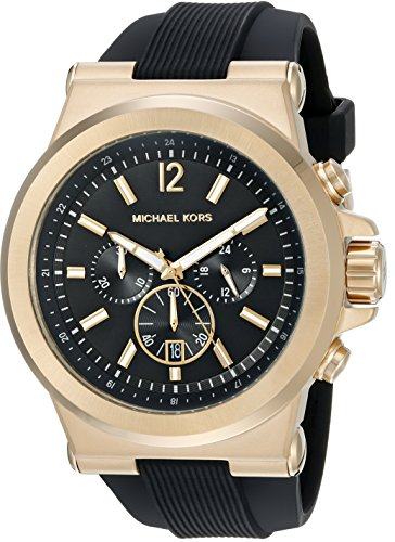 Michael Kors Men's Dylan Black Watch MK8445