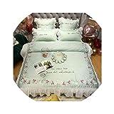 dark grey curtains asda HANBINGPO Yellow Princess Egyptian Cotton Duvet Cover Bed Sheet Luxury Bedding Set Queen King Size Bedspreada/linge de lit,Bedding Set 2,King Size 4pcs,Bed Sheet Style