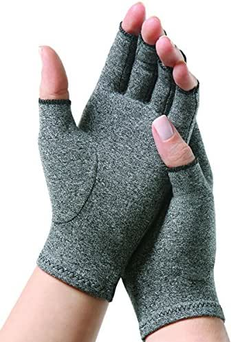 Mxinran Original Arthritis Gloves,Breathable Compression Gloves for Rheumatoid & Osteoarthritis, Hand Gloves Provide Arthritic Joint Pain Symptom Relief for Women and Men (Small)