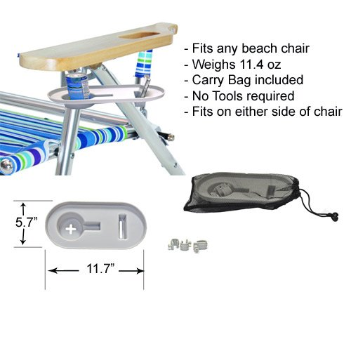 Super Deluxe Padded 3 in 1 Beach Chair / Lounger by Ostrich (Image #8)