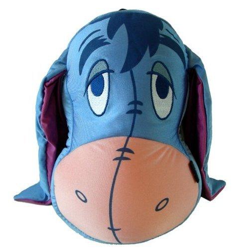 [해외]Disney EEYORE smooth plush pillow backpack / Disney EEYORE smooth plush pillow backpack