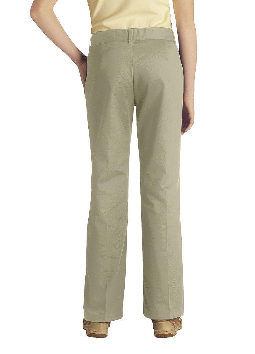 Dickies Girls Stretch Bootcut Pants 4-6X Slim Sand 6