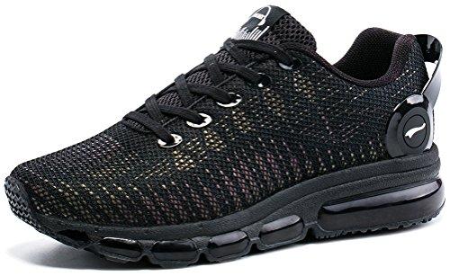 Air Donna Ginnastica Sneakers Corsa Nero Onemix Da Sportive Scarpe Basse Fitness Casual fxIHwgd