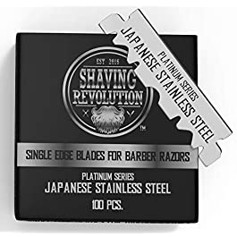 Barber Razor Blade- Single Edge Razor Blades 100 Count
