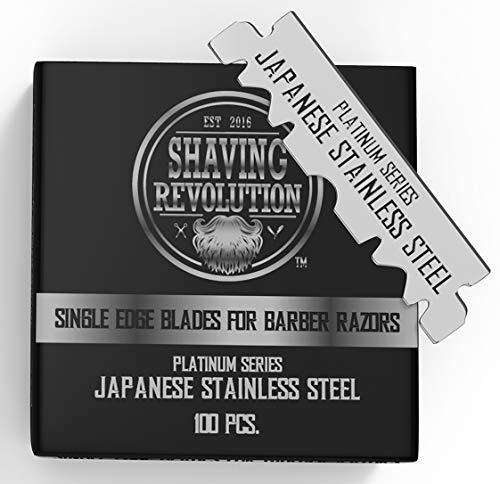Barber Razor Blade- Single Edge Razor Blades 100 Count