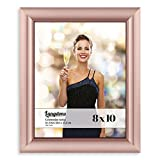 Langdons 8x10 Picture Frame Set (1 Pack, Rose Gold Picture Frame) Photo Frame 8x10, Wall Hang or Table Top Display, 8 x 10 Frame - Gold Frames, Celebration Series