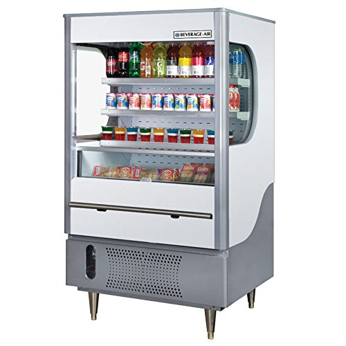 Beverage Air VM12-1-W Vuemax Series Open-Air Merchandiser