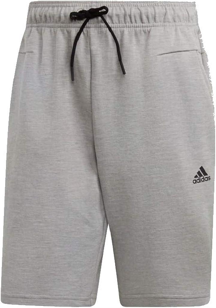 Adidas ID Stadium - Pantalones cortos Mid Grey Heather L: Amazon.es: Ropa y accesorios