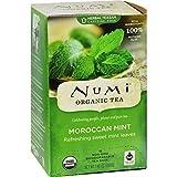 Cheap Numi Tea Moroccan Mint – Caffeine Free – 18 Bags – 95%+ Organic –