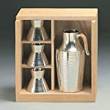 Osaka Naniwa Suzuki,Japanese Pure Tin Sake Serving Set /12-9 KATAHAN