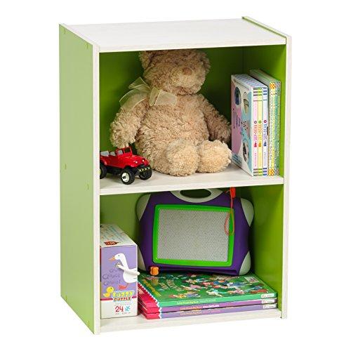 IRIS 2-Tier Wood Storage Shelf, Green by IRIS USA, Inc. (Image #7)