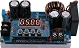 Yeeco 400W 8A NC DC Step Down Voltage Power Converter, 6-65V to 0-60V Adjustable Voltage Regulator Stablizer CC CV Power Transformer Supply Module Board Voltmeter Ammeter