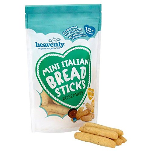 Mini Breadsticks - Heavenly Mini Italian Breadsticks Rosemary - 70g (0.15lbs)