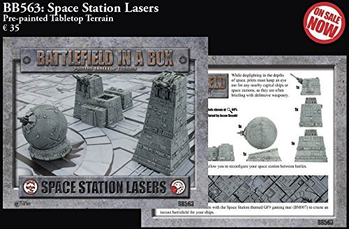 Battlefield in a Box Space Station Lasers.