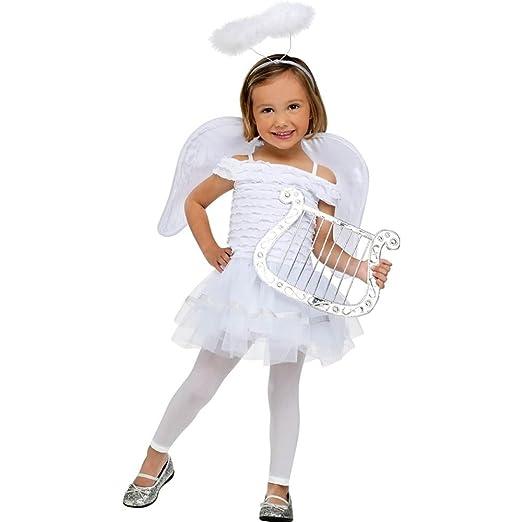 3d11949b2ea Amazon.com  Fun World Costumes Baby Girl s Little Angel Toddler ...