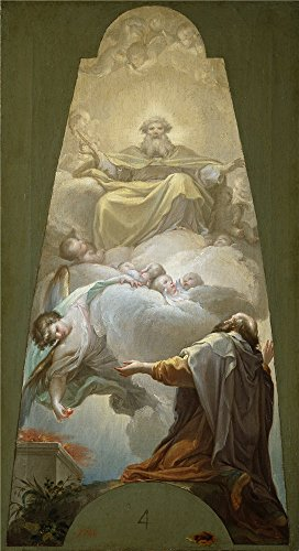 Oil Painting 'Bayeu Y Subias Francisco La Vocacion Del Profeta Isaias 1771 ' Printing On High Quality Polyster Canvas , 12 X 22 Inch / 30 X 56 Cm ,the Best Gift For Girl Friend And Boy Friend And Home Decoration And Gifts Is This Beautiful Art Decorative Canvas Prints