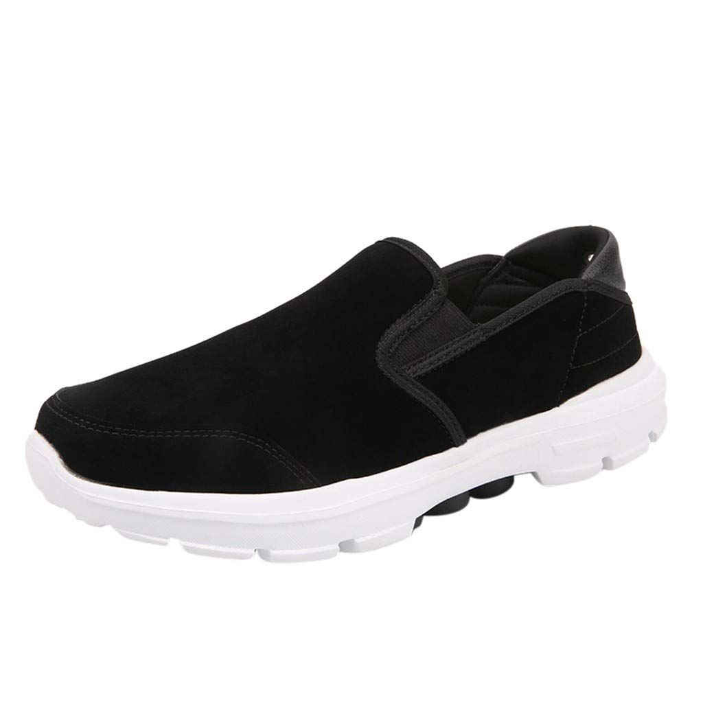 WILLTOO  Summer Men Shoes !! Men Shoes Outdoor Casual Canvas Shoes Comfortable Sport Shoes Black