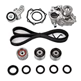 Engine Timing Belt Kit with Water Pump for Subaru Forester Impreza Legacy Outback 2.5L H4 EJ253 Engine Replace # TKF-006 TCK304 TCKWP304A