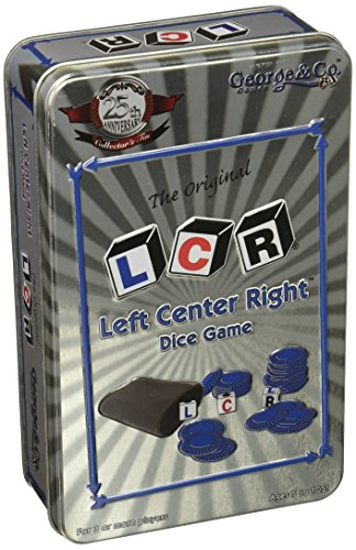 (Left Center Right Dice Game - 25th Anniversary Collector's Tin)