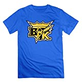 img - for Brandon Wheat Kings RoyalBlue Men's Sport Shirts For Male Size M book / textbook / text book