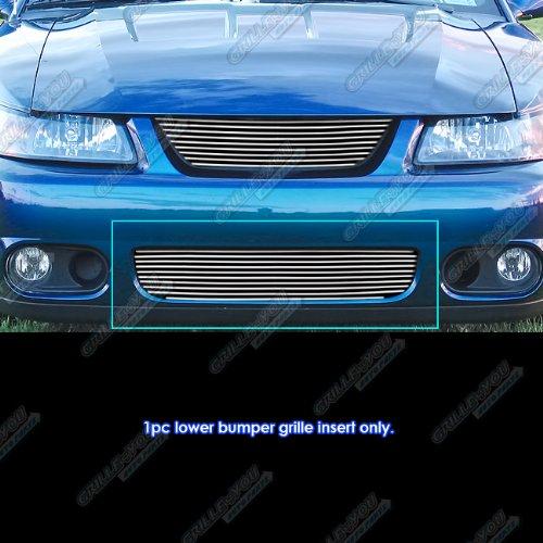 APS Fits 2003-2004 Ford Mustang SVT Cobra Lower Bumper Billet Grille Insert #N19-A92066F