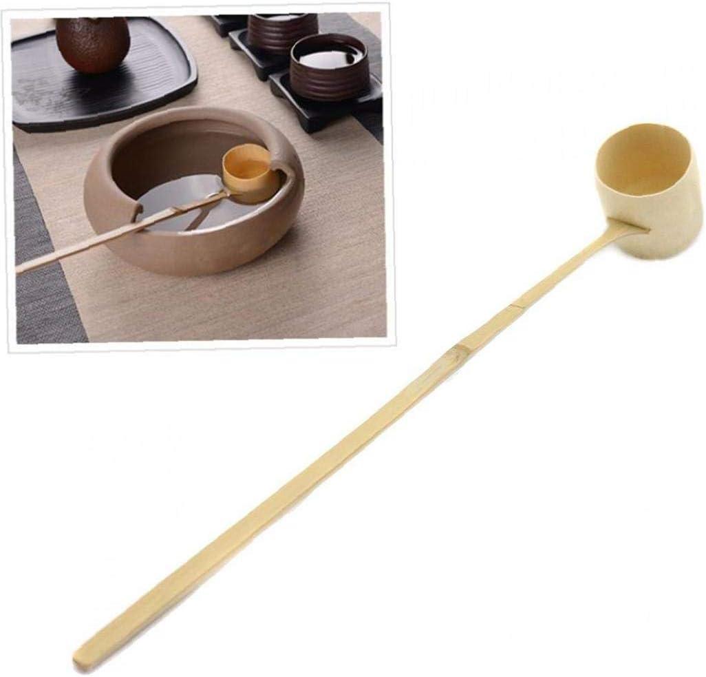 Cieelita Mestolo di bamb/ù Naturale Cucchiaino di Acqua di Acqua Mestolo t/è Giapponese Strumenti Cerimonia