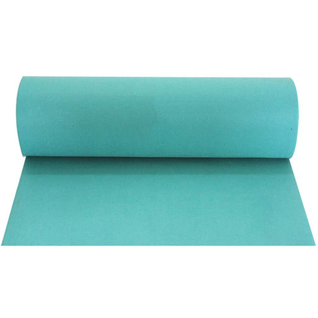 Daicushengmao カーペットランナー使い捨て不織布結婚式の結婚式のお祝いの小道具Tステージステージ底青い敷物に適した色 おかしいドアマット (サイズ : 1.5m×50m) 1.5m×50m  B07SCR9LPL