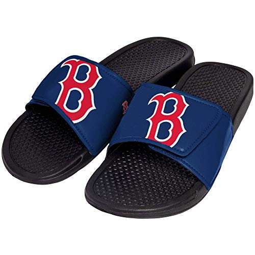 FOCO MLB Boston Red Sox Unisex Big Logo Slide-Big Logo Slde, Boston Red Sox, Medium - Mlb Sox Gift